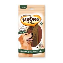 Мнямс Мясные полоски для собак, 120 гр.