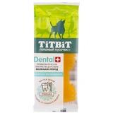 TitBit ДЕНТАЛ+ Зубочистка с мясом индейки для собак маленьких пород