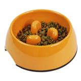 SuperDesign миска меламиновая для медленного питания, 140 мл, оранжевая