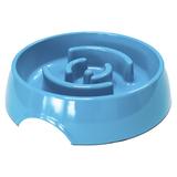 SuperDesign миска меламиновая для медленного питания, 550 мл, синяя