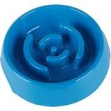 SuperDesign миска меламиновая для медленного питания, 900 мл, синяя
