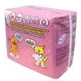 Доброзверики подстилки впитывающие для животных с бумагой тиссью и суперабсорбентом