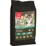 Blitz Holistic ИНДЕЙКА И УТКА — беззерновой сухой корм для щенков всех пород Holistic Turkey & Duck Puppy All Breeds (Grain Free)