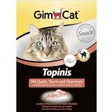 Gimcat лакомство для кошек Мышки с творогом, таурином и витаминами Topins