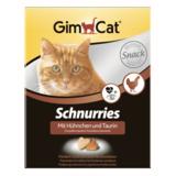 Gimcat Лакомые сердечки с курицей Schnurries