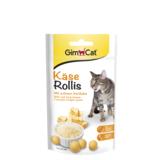 Gimcat лакомство для кошек Сырные ролики