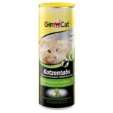 Gimcat лакомство для кошек с водорослями и биотином Katzentabs
