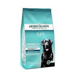 Arden Grange Light диетический сухой корм для взрослых собак, с курицей и рисом.