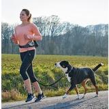 Hunter напоясная сумка с поводком для бега и прогулки с собакой Beltpouch with anti-jerk leash Jasper