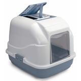 IMAC био-туалет для кошек EASY CAT 50х40х40h см, нежно-голубой