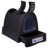 IMAC био-туалет для кошек ZUMA 40х56х42,5h см, антрацит