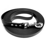 R-Dog Поводок из биотана, стальной карабин, черный