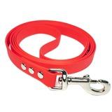 R-Dog Поводок из биотана, стальной карабин, цвет красная карамель