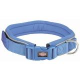 Trixie ошейник широкий с неопреновой подкладкой Premium, цвет королевский синий