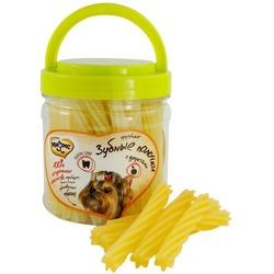 Мнямс лакомство для собак крученые зубные палочки с фруктами, 340 гр