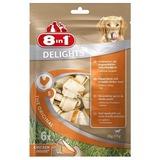 8 in 1 Delights косточки для мелких и средних собак, 6шт. х 11см.