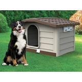 BAMA PET будка для собак BUNGALOW L, пластик, бежевая