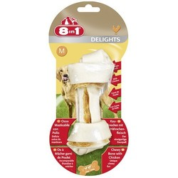 8 in 1 Delights косточка для средних и крупных собак, 14,5 см.