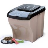 BAMA PET контейнеры для хранения 5-7 кг корма POKER 20л 45х40х28h см