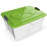 BAMA PET контейнер для хранения 5-7 кг корма SIM BOX 18л 40x30x22h см, прозрачный
