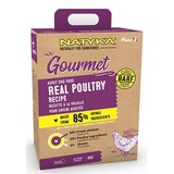 Natyka Adult Gourmet Real Poultry Холистик корм для собак с домашней птицей