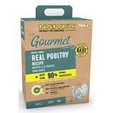 Natyka Puppy Gourmet Real Poultry Холистик корм для щенков с домашней птицей