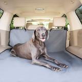 Solvit Products & PetSafe Водонепроницаемый чехол для перевозки собак в багажник Sta-Put™, цвет серый