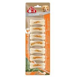 8 in 1 Delights Strong XS косточки сверхпрочные с куриным мясом для мелких собак 7х7,5 см