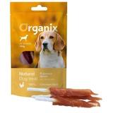 Organix (лакомства) лакомство для собак «Куриное филе на палочке» (100% мясо), Chicken fillet/ bleached twist stick