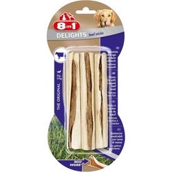 8 in 1 Delights Sticks жевательные палочки с говядиной для собак, 3шт. х 13 см