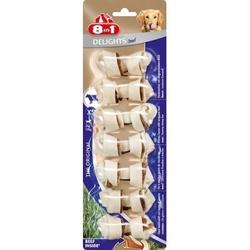8 in 1 Delights Beef XS косточки с говядиной для мелких собак 7,5 см 7 шт