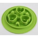 SuperDesign миска силиконовая для медленного поедания 350 мл, салатовая
