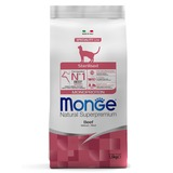 Monge Cat Monoprotein Sterilised Beef корм для стерилизованных кошек с говядиной