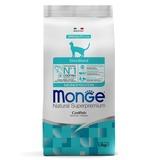 Monge Cat Monoprotein Sterilised Merluzzo корм для стерилизованных кошек с треской