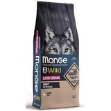 Monge Dog BWild LOW GRAIN низкозерновой корм из мяса гуся для взрослых собак всех пород