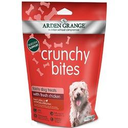 Arden Grange Crunchy Bites лакомство для собак с курицей, 225 г