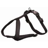 Trixie У-образная шлейка с мягкой подкладкой Premium Y-harness, цвет черный