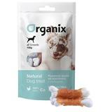 Organix лакомство для собак «Куриное филе на косточке с кальцием» (100% мясо), Chicken fillet/ calcium twisted