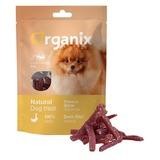 Organix лакомство для собак малых пород «Нарезка утиного филе» (100% мясо), Duck fillet/shredding for small breeds