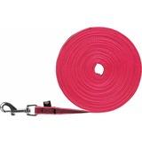 Trixie Поводок прорезиненный тренировочный, розовый, без ручки