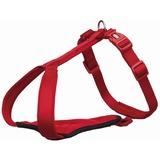 Trixie У-образная шлейка с мягкой подкладкой Premium Y-harness, цвет красный