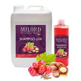 MILORD SHAMPOO UVA шампунь для кошек и собак очищающий с пантенолом, виноградом и маслом арганы