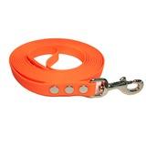 R-Dog Поводок из мягкого биотана Гекса, стальной карабин, оранжевый неон