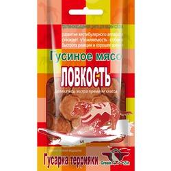 Green Cuisine ЛОВКОСТЬ (Сушеные гусиные медальоны) лакомство для собак (Грин Кьюзин), 80 гр., арт.043