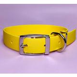 R-Dog Ошейник из биотана (Biothane USA), металлическая пряжка, цвет желтый