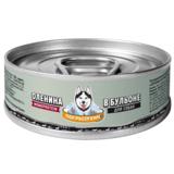Погрызухин консерированный корм для собак Оленина в бульоне