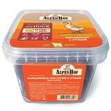 AlpenHof Кальциевые косточки с уткой для собак, пластиковый контейнер