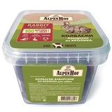 AlpenHof Колбаски баварские из кролика для собак, пластиковый контейнер