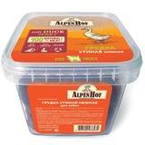 AlpenHof Грудка утиная нежная для собак, пластиковый контейнер