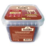 AlpenHof Колбаски баварские из ягненка для собак, пластиковый контейнер